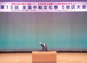 韓国語スピーチ部門